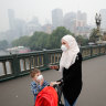 Haze set to stay until Friday as city dwellers rush to buy masks