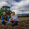 Perfect time to sow but farmers warn 'it's a long time until spring'