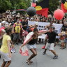 'What's today? Invasion Day' echoes through Brisbane streets amid protests