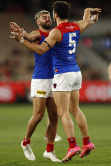 The Christians - Salem and Petracca - had a night to remember against the Bombers.