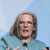 Backing battery power: Lucy Turnbull.