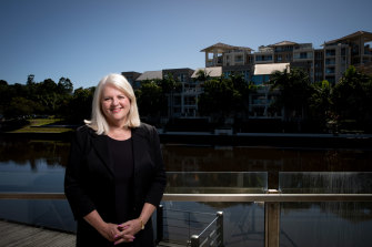 Home Affairs Minister Karen Andrews says she is not a career politician.