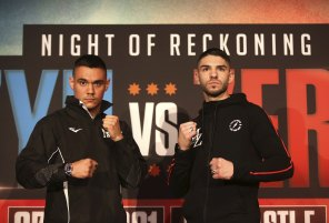 Michael Zerafa travelled to Sydney in May to promote the fight against Tim Tszyu.