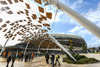 Footy fans have been warned again about scalpers ahead of Saturday's grand final at Optus Stadium.