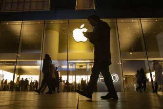 Apple's profit and revenue for the period easily exceeded analyst estimates.