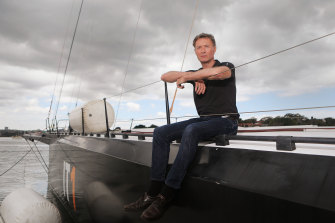 InfoTrack skipper Christian Beck said he had spent around a quarter of a million dollars getting his boat ready.