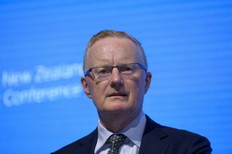 RBA governor Philip Lowe says it is unlikely the bank will be in a position to lift interest rates until 2024.