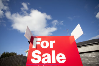 The Commonwealth Bank believes house prices in Sydney and Melbourne could fall by at least 10 per cent in the next six months.