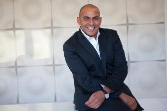 Hatem Saleh of the Atlantic Group.