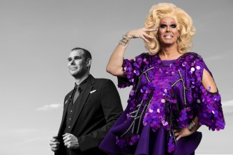 Daniel Floyd is a Virgin Australia cabin crew manager who is now making money by performing daily drag shows online.