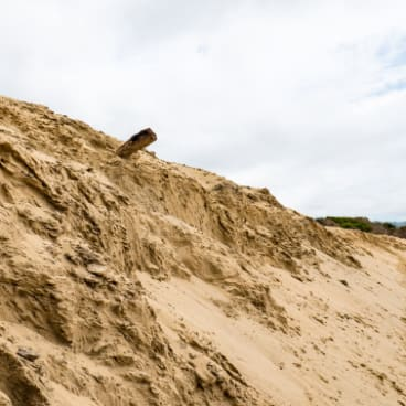 Erosion at Apollo Bay.