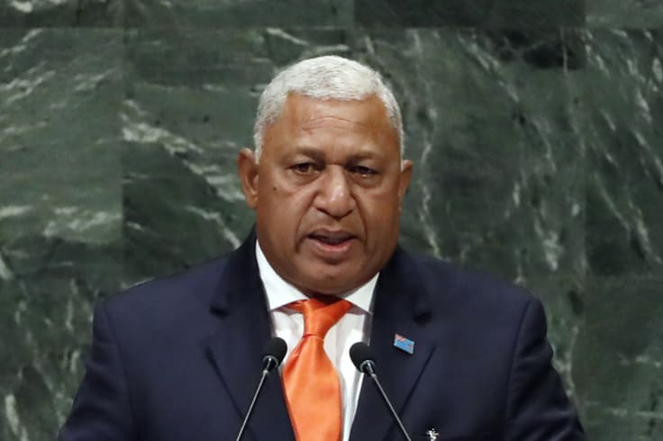 Fijian Prime Minister Frank Bainimarama has rejected the possibility of Neil Prakash being admitted to Fiji.