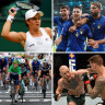 It's a sporting bonanza this weekend: here's what to watch and when