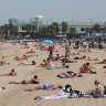Heatwave kicks in with Friday's temperature revised upwards