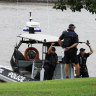 Police search for man seen swimming across Brisbane River from West End