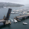 'Traffic nightmare': How a single boat can paralyse one of Sydney's busiest roads