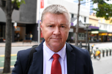 Dave Hanna, a former CFMEU Queensland secretary, is accused of forcing himself on a woman at her apartment in the northern suburb of Taigum on March 4, 2017.