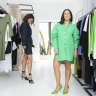 Out with activewear, in with formal frocks as fashion sales rebound