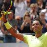 Nadal, Federer and Tsitsipas through, but Popyrin, de Minaur fall
