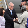 Scott Morrison promises $250m to stave off China's Pacific growth