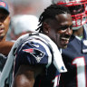 Troubled Brown scores touchdown on Patriots debut