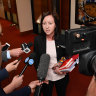 Queensland will cap political donations but not until after the election