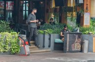 Canggu cafes and restaurants remain active as businesses in Kuta and Legian have largely closed.