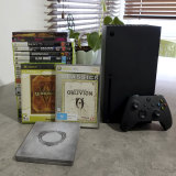 I've been playing three generations of The Elder Scrolls on Xbox Series X, as well as heaps of other older games.