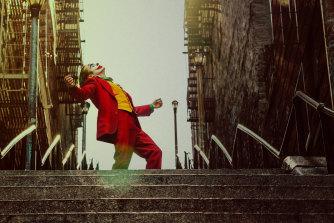 Joaquin Phoenix in Joker, the biggest Warner Bros title locally of 2019-20.