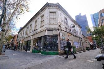 The Job Warehouse on Bourke Street on Wednesday.