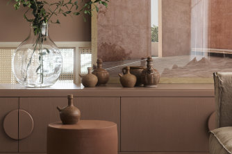 The relaxed, earthy and accessible display suite created by interior design practice Richards Stanisichfor Wicks Place.