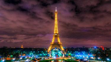 Paris: City of lights - and random calls with Donald Trump.
