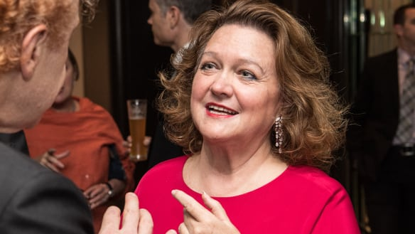 Gina Rinehart's wealth could fund government spending for 11 days