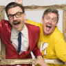 A kids' comedy duo so funny you might wet yourself