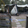 Two dead, including boy, after holiday home blaze