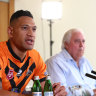 QRL unmoved by legal threat, want clarity over Folau's Catalans contract