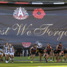 From the Archives, 2019: Pies hold off Dons in Anzac Day thriller