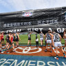 AFL confirms Shanghai game's move to Marvel Stadium
