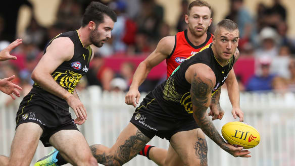 Ruthless Richmond stamp their authority by thrashing Essendon