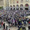 'Grow a brain': WA Premier says people protesting lockdowns in Perth just want trouble