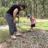 Kids go bush as Brisbane program teaches tots to learn among the gumtrees