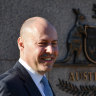 Josh Frydenberg is rolling in the red, and mighty proud of it