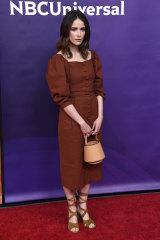 Paprika princess ... 'Suits' star Abigail Spencer.
