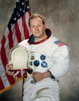 Astronaut Philip Chapman in an official NASA portrait.