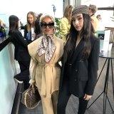 """Kishama Meridian and Stephanie Lea Panthenos among the """"hijabistas"""" at Australian Fashion Week."""