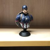 The Captain America figurine.