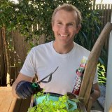 Rob Stokes, Minister for Planning and Public Spaces, is an enthusiastic gardener.