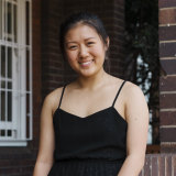 """Sydney Girls High student Simone Wei received results """"way higher"""" than expected."""