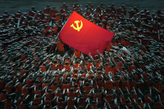 The Communist Party of China's 100th anniversary show last month: The regime is implacably hostile towards the West.
