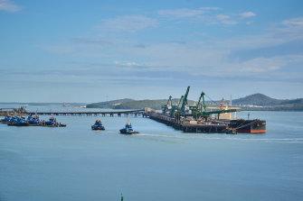 Gladstone Harbour.